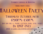 Fashion Council Halloween Party