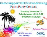 DECA Paint Party Fundraiser