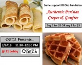 DECA Fundraiser:Crepes and Gaufres