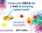 DECA Paint Party