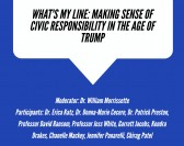 Round Table- What's My Line: Making Sense of Civic Responsibility in the Age of Trump
