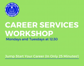 Career Services Workshop: Navigating Applications and Hiring