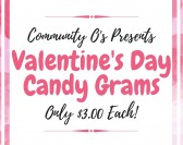 Community O's Valentine's Day Candy Grams Sale