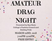 Amateur Drag Show