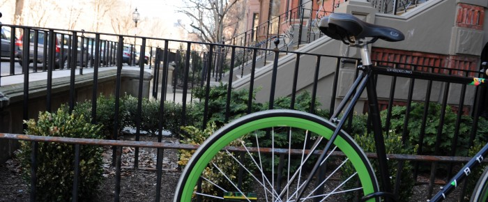 Boston is definitely a bike-friendly city with most destinations a short pedal away.