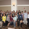 PTA students and faculty members at the APTA of MA annual conference.