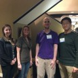 PTA students attend the American Physical Therapy Association of MA's annual meeting in Framingham, MA. Pictured L to R:  Carolyn Cwalinski, Stephanie Preve, Hollie Neild, Alex Casey and Peter Zhao