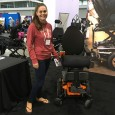 Erin Kaye ('17) at the 2016 Abilities Expo in Boston