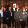 On Thursday, March 24, 2016, prominent leaders within the American Physical Therapy Association of MA (APTAMA) attended a fundraiser for Governor Baker (5th from L). Adjunct faculty member Matt Penney, PT, DPT, SCS, ATC (3rd from R), was one of the attendees advocating on behalf of our profession and patients.