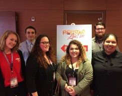 Music industry students at Pollstar Live!
