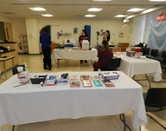 Medical Assisting Students during the Health Fair on April 6th.
