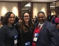 CJ Students with ACJS President Dr. Lorenzo Boyd
